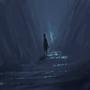Slippery cavern by Arja