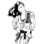 Laura Matsuda Brazilian Jiujutsu Gi inked by eMokid64