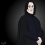 Alan Rickman by andypdm