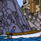 pixelation of a Tintin panel