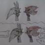 """Silver and his """"Star Fox"""" reference [Cute mode]"""