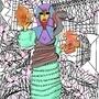 oc: truth/ life woman by popcornpencil