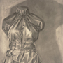 Reductive Charcoal Mannequin Study by Sabtastic