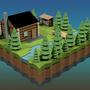 Cabin in the Woods by jsabbott