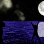 An Ocean Night by Megaphone91