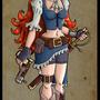 Aine the treasure hunter by MasterFury