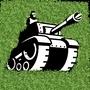 Tank in a garden by seanma4466