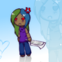 Chibi Elise Background Thing by Walkingpalmtree