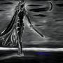 Amura the Dark Kitten by DarkfangMagus