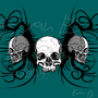 Skull Hoodie Design by aveus128
