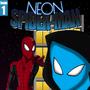 Neon Spider-Man Issue 1 by Plazmix