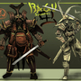 Bagu Samurai by Kiabugboy