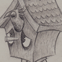 Daymare #14: Birdbrain by CourageousCosmic