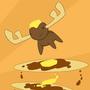 Pancake Moose by pajakinthebox