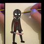 Drawing a boogeyman