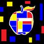 The Apple IX: De Stijl Apple by SuperUltraAusterity