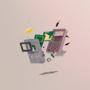 Smashed Gameboy by TURBOGAMMA