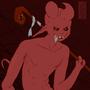 Demon Kid Redraw! by ClayzorPowskie