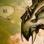 Grumpy dragon by BaukjeSpirit
