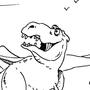 Dinosaur wish by Nevillsbottom