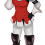 Edea Lee from Bravely Default! by littleyuri