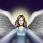 Winter Angel by AddaWhite