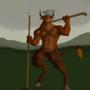 The Minotaur by darksskull