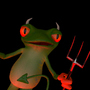 Evil Froggy by chitucoolass