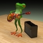 musician froggy by chitucoolass