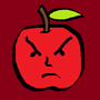 The Apple XXI: Angry Apple by SuperUltraAusterity