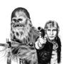 You're the Chewbacca to my Han Solo by kyowell
