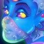 Aqua Alien by doublemaximus