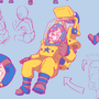 Space Lady by Shoodawatta