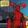 Deadpool <3 Harley by Hampelinen