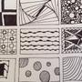 Zentangle Tiles #1 by IanEllard