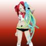 Porphyria Suicide Girl by OmgXero