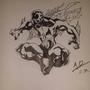 spiderman 2099 inked