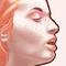 Redhead painting