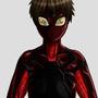 Spidey-Girl Suit Design by henlp