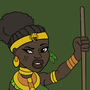 Ikaba the Jungle Queen by BrandonP
