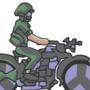 Army Bike - GIF by Wondermeow