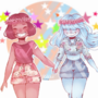 Ruby and Sapphire by RikkeHansen