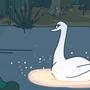 Swan Princess Vector