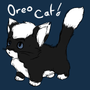 Oreo Cat by MsFuzzWuzzOreoCat