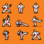 Karate Poses by UltimoGames