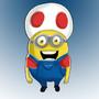 Mario Mushroom Minion by Midget-Ninja