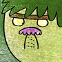 Angry dude by Ombey