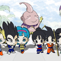 Chibi Chibi Dragon Ball Meeting by andresillustra