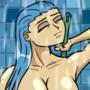 Shower chick 2 by Rennis5