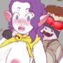 Nekomata is Weak to Shirtlifting! by Lalr